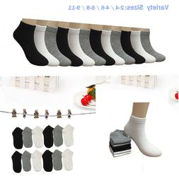 New 6-12 Pairs Child Girls Kids Ankle Low Cut Socks Solid Co