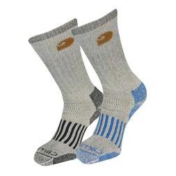 2 Pair Merino Wool Socks Men/'s size 10-13 Winter Thermal Outdoor Heavy Duty 68/%