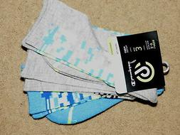 NEW NWT C9 by Champion colorful crew socks - 3 pair - youth