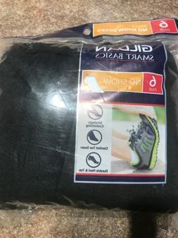 NEW! Gildan Smart Basics Mens No Show Socks 6 Pair Pack Sz 6