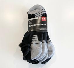NEW Under Armour UA Men's Performance Large Socks 4 Pair   N