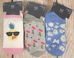 NIP Girls GAP Kids 3-Pack Socks No-Show Choose Size/Patterns