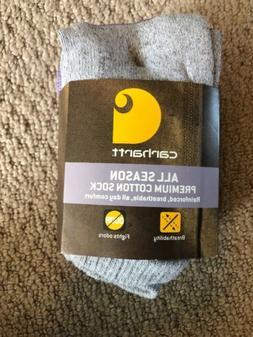 NWT Carhartt All Season Women's Low Cut Socks 3 Pairs Medium