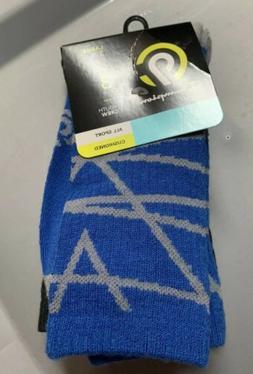 NWT C9 Champion royal blue black crew socks 3 pairs youth Si