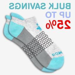 Ocean BLUE/Gray Bombas Men's Ankle Socks Honeycomb Medium ~