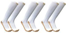 Plus Size Wide Calf Athletic Copper Compression Support Sock