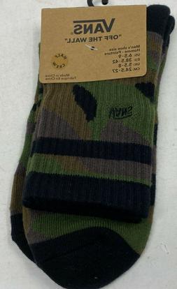 quarter high half crew socks camo men