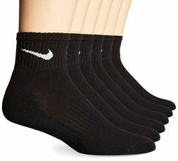 Nike Quarter Length Performance Cotton Cushioned IR Socks 6