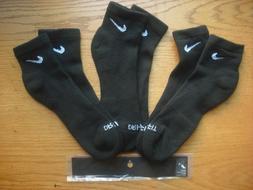 Nike 6 Pack Men's Large Quarter Socks