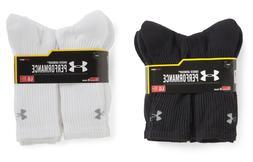 SALE 3 or 6 Pair Under Armour Performance HeatGear Crew Sock