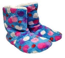 Slipper Socks For Women Warm Fuzzy Plush Soft Fleece Lined W