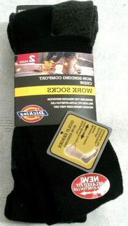 Dickies Men's Steel Toe Non-Binding Crew Socks - 10-13 Sock/