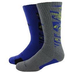 adidas Men's Team Crew Socks , Camo Print: Vista Grey/Light