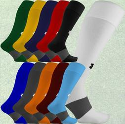 Under Armour UA Long Over the Calf Soccer Football Socks, Bl
