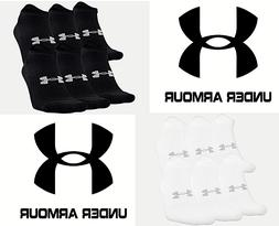 Under Armour UA Training Cotton No Show Ankle Socks - 6 PACK