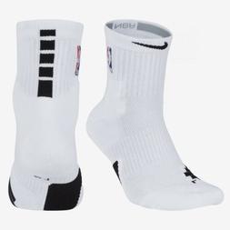Unisex NBA Nike Elite Mid Ankle/Quarter Cut Basketball Sock