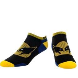 Wolverine X-Men Pedi Active Wear Pedi Ankle Socks Adult Size