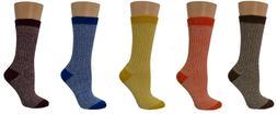 Sierra Socks Women's Cotton Outdoor Boot Hiking Casual Socks
