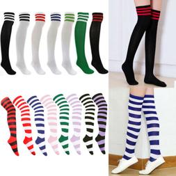 OVER THE KNEE THIGH HIGH EXTRA LONG SOCKS CHOICE of 19 COLOU