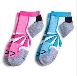 Champion Womens Mid Ankle Running Socks Reflective Sz 5 - 9